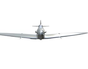 Spitfire Mk I B 3D print model
