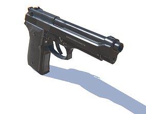 Pistol M9 3D asset