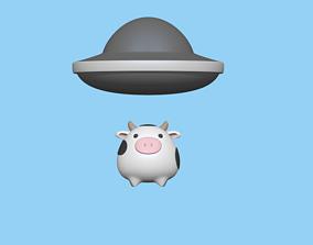 UFO bookmark 3D print model