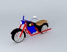 American Dream Motorcycle 3D model