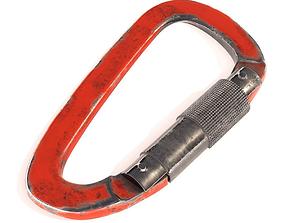 Carabiner for Climbing PBR 3D model