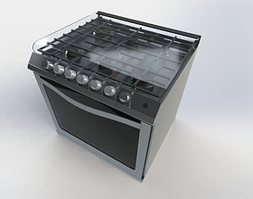 STOVE STAINLESS 3D printable model