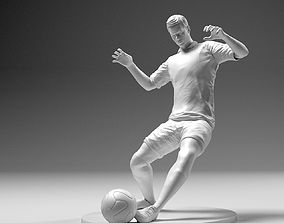 3D print model Footballer 02 Sledge Strike 01 Stl