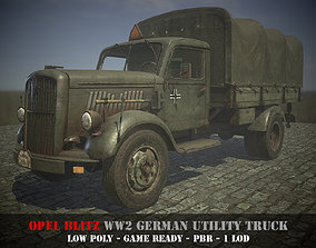3D model Opel Blitz - WW 2 German Utility Truck - Game 2