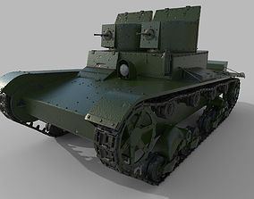 T-26 Two towers 3D model