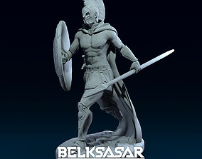 3D print model Spartan warrior Walking