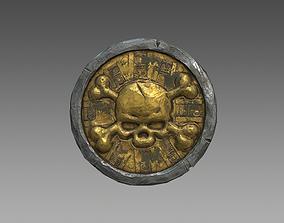 Pirate Coin 3D asset