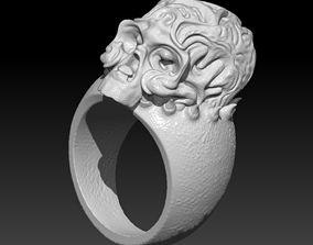 Skull Ring - 3D Printable Model