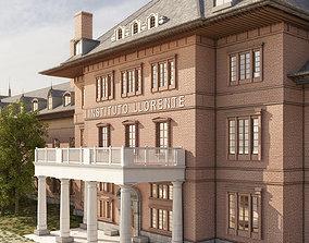 3D Spanish Building