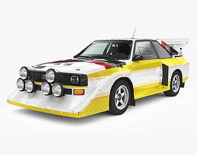 Audi Sport Quattro S1 1985 3D asset