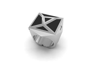 Mirror Ring technology 3D printable model