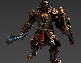 3D asset Stylized Knight