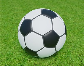 united Football Soccer Ball 3D model