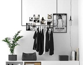 3D model clothes on a hanger