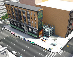 NYC block 3D
