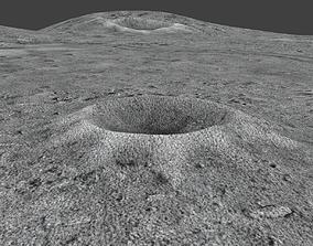MoonSurface 3D asset