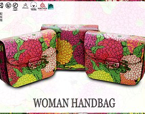 Woman Handbag GUCCI 3D model