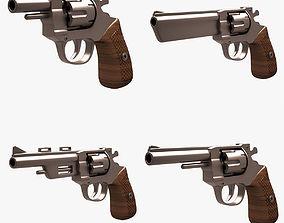 3D model Revolver Set 001