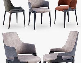 3D Potocco Velis chair set