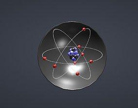 covalent bonds Ch4 3D asset