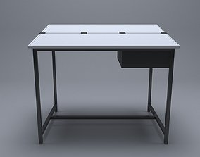 drafting table 3D animated