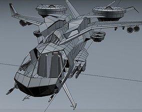 3D model XGunship
