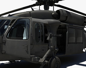3D military Blackhawk