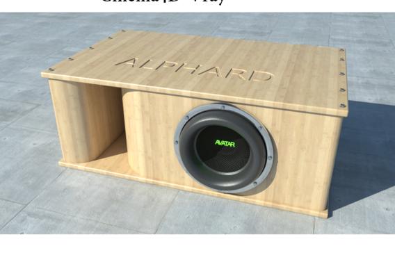 subwoofer box alphard