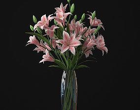 Lily 01 3D decoration