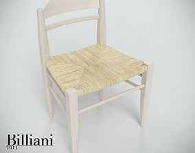 Billiani Vincent VG side chair rope 3D model