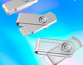 3D sleek USB Flash Drive