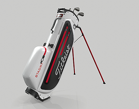 Titleist White StaDry Golf Bag Plus 3D
