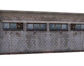 Factory Building 04 01 3D asset