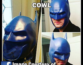 3D Printable Clip Together Batman Cowl arkham