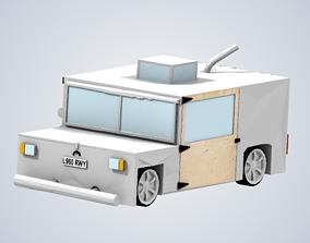 HAMMERHEAD EAGLE ITHRUST ELECTRIC CAR 3D print model