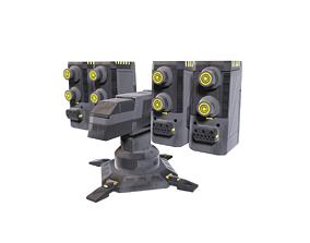 3D asset Si-Fi Turret