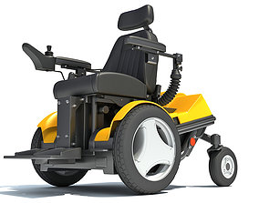 3D model Electric Power Wheelchair