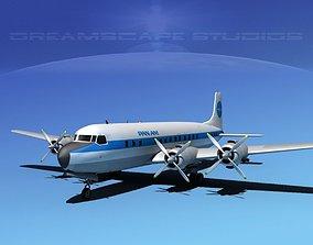 3D Douglas DC-7C Pan Am 2