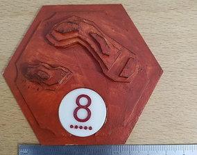 3D Catan Tile Brick