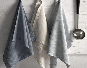 3D model Tea Towel Linen