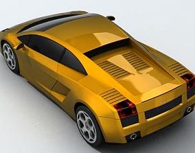 drive 3D model Lamborghini Gallardo