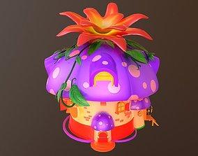 Asset - Cartoons - House - 3D model animated