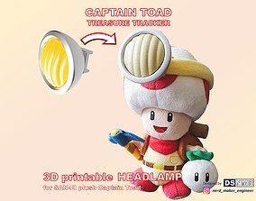 3D printable model Captain Toad Headlamp for SAN-EI 1