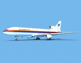 Lockheed L1011 United Airlines 1 3D model