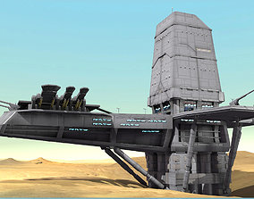 Planet Base 3D model
