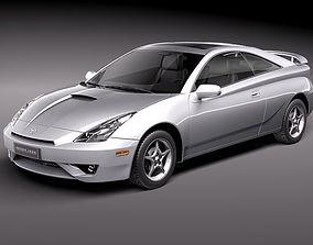 Toyota Celica VII 1999-2005 3D Model