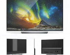 3D model LG OLED TV E8