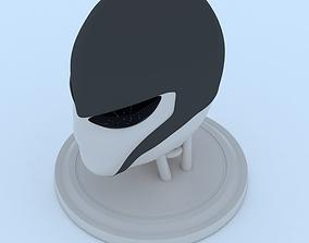 3D print model Female Robot Head