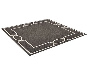 4k High Quality SquaredRug fabric 3D