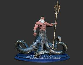 3D printable model hulk Poseidon